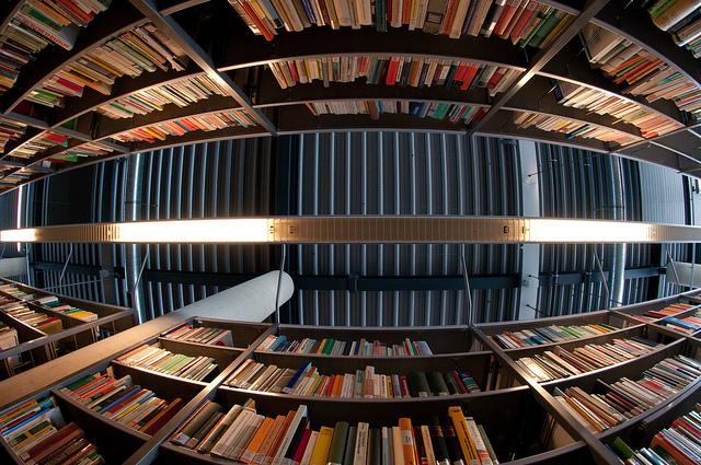 Becas DAAD Posgrado - Estudiar en Alemania. Foto: Library by Christian Senger