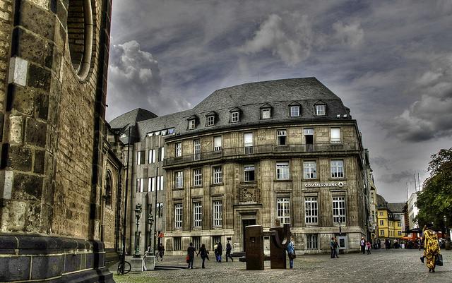 Centro de la ciudad de Bonn en Alemania