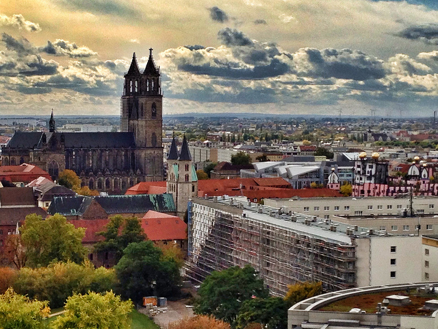 Ciudad de Magdeburg en Alemania buena opcion para estudiar relaciones internacionales