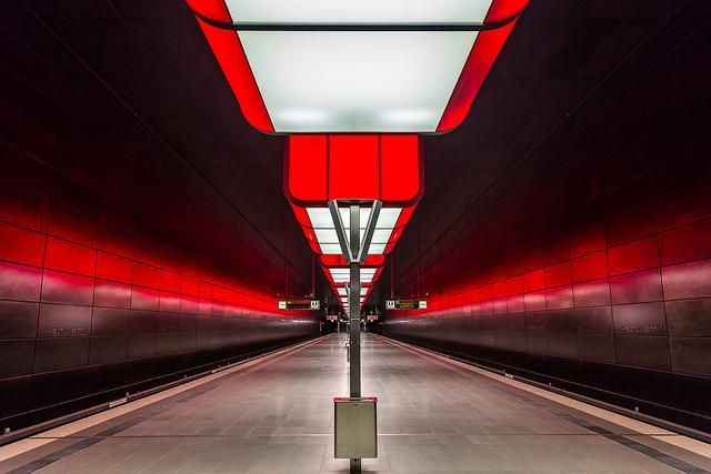 Estacion Metro Universidad Hafencity Hamburgo