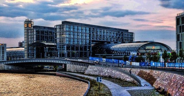 Estación central de trenes de Berlín