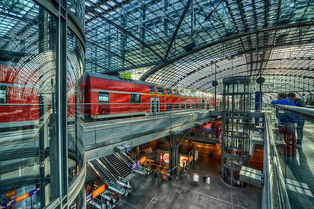 Estacion de trenes de Berlín