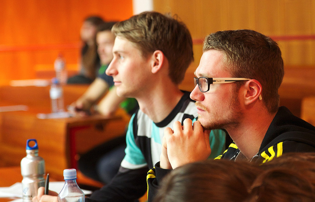 Estudiantes becas Erasmus