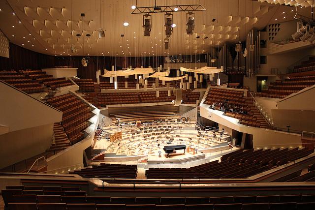 Orquesta Filarmónica de Berlin - Estudiar música en Alemania