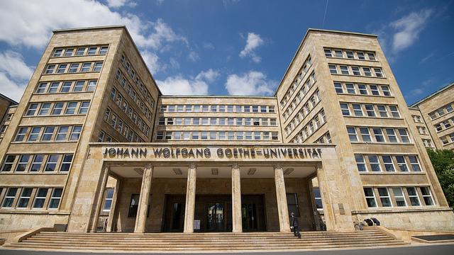 Universidad Goethe de Frankfurt - Estudiar Filosofía en Alemania