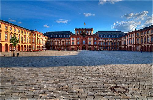 Estudiar Master en Alemania - Castillo de Mannheim en Alemania