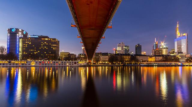 Vista de Frankfurt - Carreras universitarias en Alemania